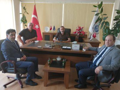 MHP İl Başkanı ve Yakutiye Başkan Yrd. Ziyaretleri