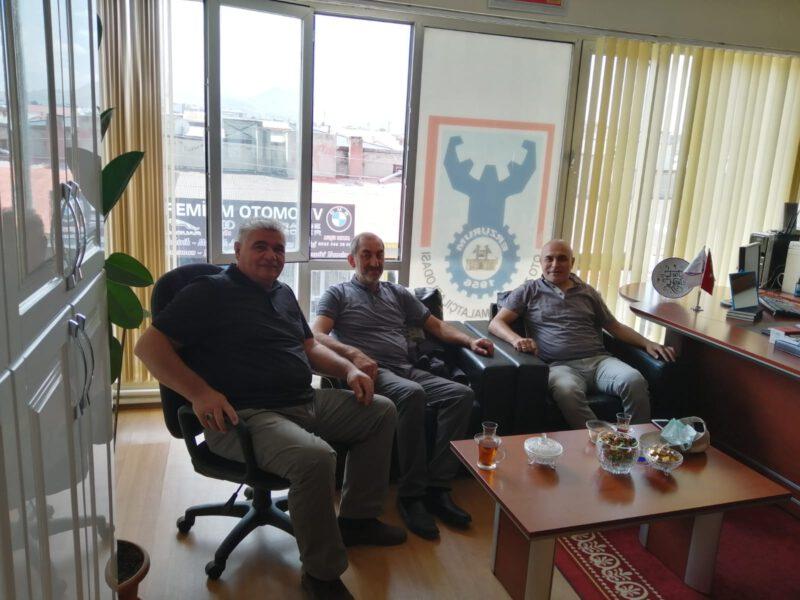 Eski Yakutiye Belediye Başkanımız Ali Korkut ziyareti